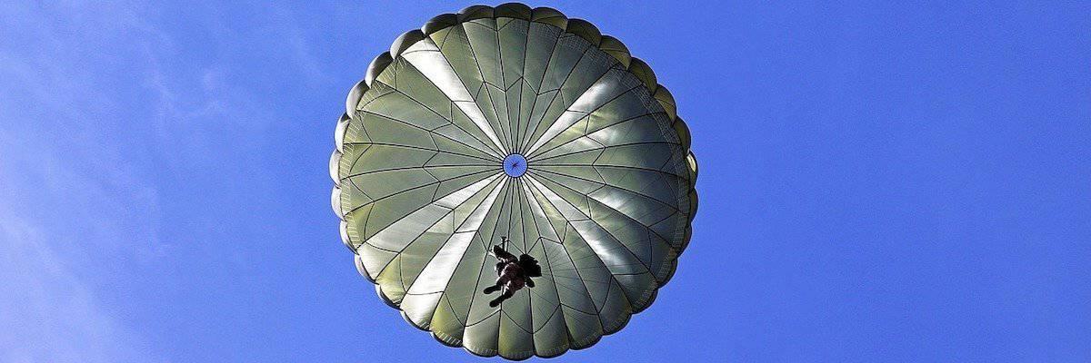 parachute keuring